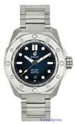 New Boldr Odyssey Metal Blue Stainless Steel Watch Swiss Automatic 500m