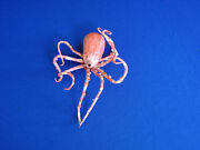 Rare Vintage Octopus Paper Papier Mache Candy Container Halloween Christmas