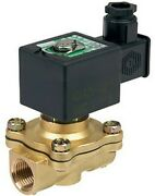 Ascomotion Asco Solenoid Valve 6w 240v Ac 2/2 Nc Air/water- 3/4, 1 Or 1 1/4