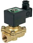 Ascomotion Asco Solenoid Valve 6w 240v Ac 2/2 Nc Air/water- 1 1/2 Or 2