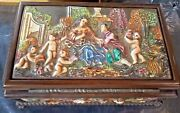 Vintage Reuge Capodimonte Limited Edition Music Jewelry Box Laraand039s Song 2/50