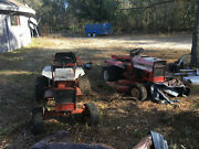 2 Gravely Collectable And Restore-able Lawn Tractors. Both Are Rear Engine Onan