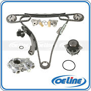 Timing Chain Kit Oil Water Pump For 05-15 Nissan Frontier Nv2500 Xterra Equator