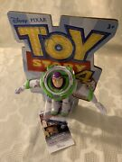 Tim Allen Signed Buzz Lightyear Toy Story 4 Doll Poseable Jsa Authenticated Coa
