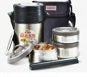 Double Wall Stainlesssteel Food Jar Thermos Insulated Lunch Boxes For Men Vacuum