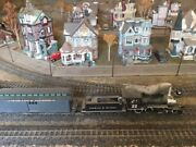 Bachmann On30 Colorado And Southern Model Train Layout And Lighted Xmas Village
