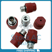 10pcs High Side A/c Ball Valve Core Charge Port 800955 Fits Gm Ford Audi