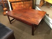 Danish Mid-century Extension Coffee Table In Rosewood 1960and039s Restored