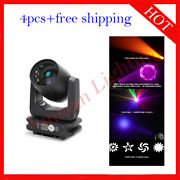 100w Led Beam Moving Head Dj Stage Spot Effect Party Light 4pcs Free Shipping