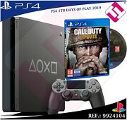Videoconsola Days Of Play Ps4 1tb 2019 Playstation 4 + 1 Juego Call Of Duty Ww2