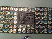 Topps 1988 Baseball Coins Complete With Check List Authentic