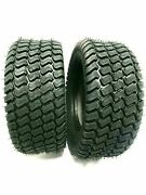 Two 18x8.50-10 Lawn Tractor Tires Turf Master Style Pair 18x8.5-10 Free Ship