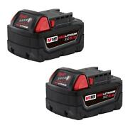 M18 18-volt Lithium-ion Xc Extended Capacity Battery Pack 5.0ah 2-pack