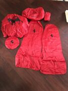 Ferrari Car Cover, Steering Wheel Cover, Seat Covers, Battery Charger Set Oem