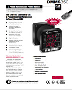 Dmms 350 3-phase Multifunction Power Monitor With Advanced Capabilities