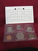 1984 Uncirculated Prooflike Canadian Silver 6 Coin Set