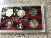 2005-s Us Mint Silver Proof 10 Coin Set W/ Coa And Mint Packaging