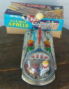 Modern Toys Usa-nasa Apollo Battery Op Spaceship Made In Japan With Box