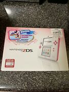 Peach Pink 2ds Mickey's Magical World Bundle Brand New
