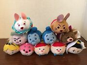 Disney Alice In Wonderland Mini Tsum Tsum Ver 2 Complete Set Of 11 Nwt Sold Out