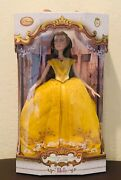Disney Live Action Belle Doll 17 Beauty And The Beast Limited Edition