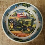 John Deere Small Bowl Or Ashtray Or Coaster , Made In China Edward C Schaefer