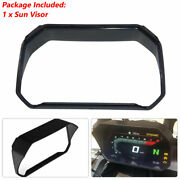 """Motorcycle 6.5 """"instrument Sun Visor Protective Cover Fit For Bmw Yamaha Suzuki"""