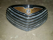 1940 Cadillac Lasalle Upper Grille Section For The Hood Used