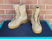 Wellco Hot Weather Military Combat Desert Boots Tan Size Men's 5 Womens 7 New