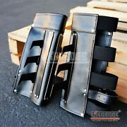 Gauntlets One Pair Martial Arts Leather Arm Cuff With Metal Spikes Not Sharp