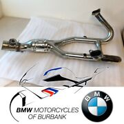 Used R 1200 Exhaust Manifold, Chrome-plated Genuine Bmw Motorrad Motorcycle