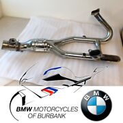Used R 1200 Exhaust Manifold Chrome-plated Genuine Bmw Motorrad Motorcycle