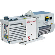 Rv8 Edwards Rv8 Dual Stage High Capacity Vacuum Pump With Fittings, 50/60 Hz