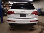 10 11 12 13 14 15 Audi Q7 Trunk Lid Liftgate W/spoiler And Camera White Ls9r