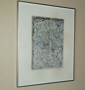 Mark Tobey lithograph Hand Signed Limited Abstract Expressionism