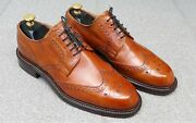Cheaney Julian - Tan Leather Derby Menand039s Shoes . Bench Made In England