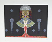 Salome By Erte Signed Artist's Proof Ap Lithograph 22 1/2x27 1/2