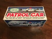 1993 Hess Toy Truck Patrol Police Car - Brand New Condition - Original Owner
