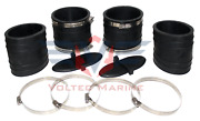 Mercruiser Exhaust Y-pipe Kit 807166a1 Hose Bellows 32-14358t 32-44348t 1998 Andup