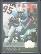 1994 Playoff Contenders Football Back To Back Barry Sanders And Emmitt Smith