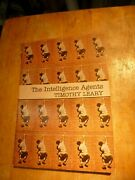 The Intelligence Agents By Timothy Leary 1st Edition 1979 Signed Pb Book