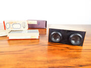 Antique Stereoscope French Slide Viewer And 50 Glass 3d Slides Ww1 Era Military