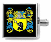 Mckay Scotland Family Crest Surname Coat Of Arms Cufflinks Personalised Case