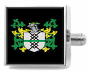 Mcintyre Scotland Family Crest Surname Coat Of Arms Cufflinks Personalised Case