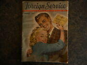 1947 Foreign Service Magazine Veterans Of Foreign Wars Vintage Ads Beer Soldier