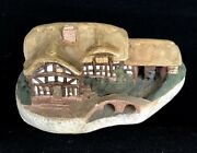 David Winter Mill House Very Early Piece Very Rare 1980 Amazing Detail