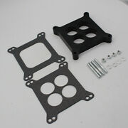 New 1 Ported Phenolic Carburetor Spacer 4bbl Fit For Holley Sb Chevy Ford