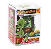 Funko Pop Sdcc 2019 Rat Fink Glow Gitd 15 Toy Tokyo Shared Exclusive In Hand Le