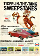 1965 Ad Humble Enco Gas Marlin Rambler Sweepstakes Put Tiger In Your Tank 072819