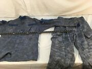 Us Camouflage Dyed Blue Small Paintball Hunting Jacket / Trousers Set
